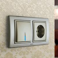 Установка выключателей в Новокузнецке. Монтаж, ремонт, замена выключателей, розеток Новокузнецк.